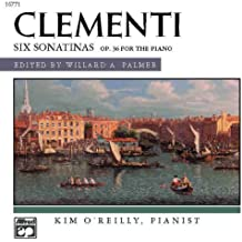 Clementi: Six Sonatinas: Op. 36 for the Piano (Alfred Masterwork Edition)