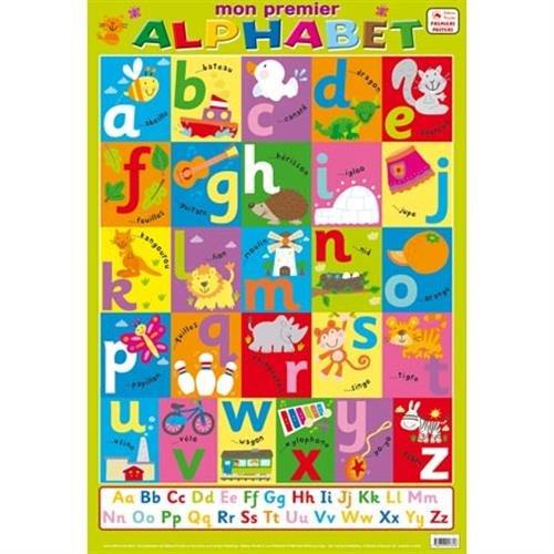 Posters recto verso : Mon premier alphabet