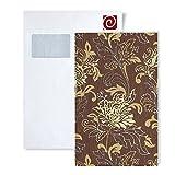Tapeten MUSTER EDEM 604-Serie | Vliestapete XXL Designer Blumentapete floral, 604-XX:S-604-94