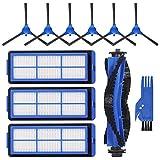 Fransande Geschikt voor accessoires van Robovac 11S Max 15 C rollerborstel, zijborstel, filter.
