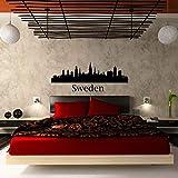 wandaufkleber baby junge auto kran wandaufkleber fenster Abnehmbare Schweden Land für Wohnzimmer Schlafzimmer Wohnkultur