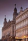 Walter Bibikow / DanitaDelimont – Cuba Gran Teatro de la Habana Hotel Inglaterra Photo Print (45,72 x 60,96 cm)