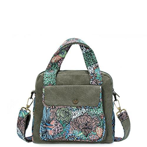 vento nazionale la signora Messenger Bag/borsa a tracolla casual/borsa di tela-B A