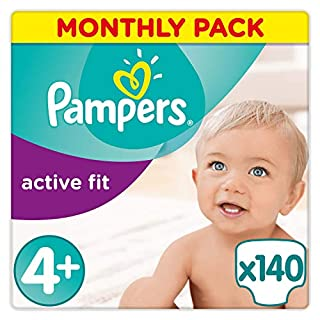 Pampers - Active Fit - Diapers Size 4+ (9-18 kg) - Pack 1 (x35 layers) (B00AF9R36U) | Amazon price tracker / tracking, Amazon price history charts, Amazon price watches, Amazon price drop alerts