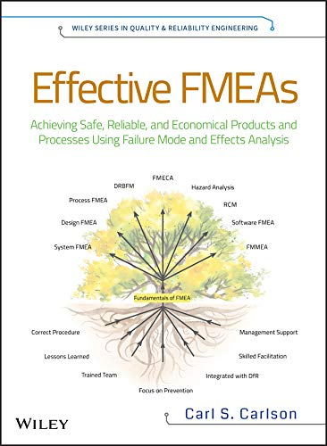 Effective FMEAs: Achieving Safe, Reliable, and Economical Products and Processes using Failure Mode and Effects Analysis (Quality and Reliability Engineering Series Book 4) (English Edition)