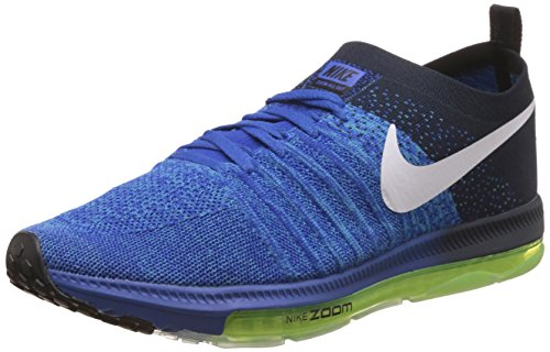 Nike Men's Zoom All Out Low Blue Running Shoes - 8.5 UK/India (43 EU)(9.5 US)(878671-401)