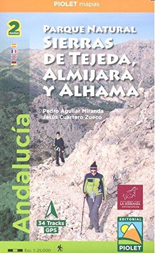 Parque Natural Sierras de Tejeda, Almijara y Alhama : Andalucía. Escala 1:25.000 (Parque Natural)