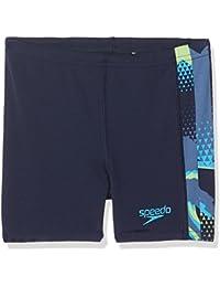 Speedo Boys Alphablast All-Over Panel Aqua Shorts
