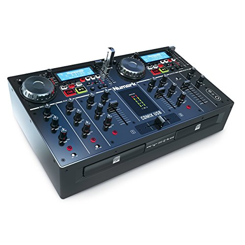 Numark CD Mix USB Doppel-CD und USB Player Performance System
