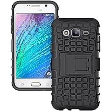 BUY-WAY Polycarbonate Defender Back Cover for Samsung Galaxy j7/ j7 Next(Black)