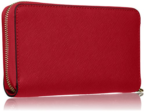 Michael Kors - Jet Set Travel Large Smartphone, Borsette da polso Donna Rosso (Bright Red)