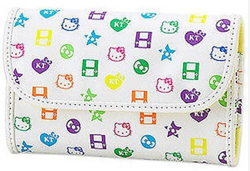 67124df596fe New Authentic Hello Kitty DSi Lite Pouch White monogram by Debbi Top SHOP