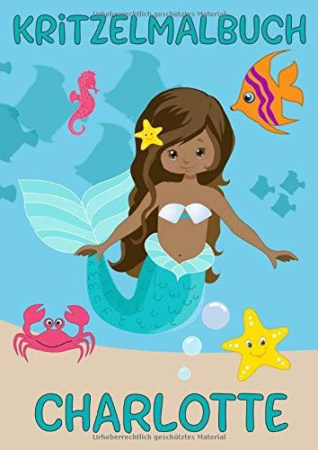 OTTE: Meerjungfrau: Personalisiertes Malbuch zum Kritzeln & Malen für Kinder ab 2 Jahren. Alle Kunstwerke in einem Softcover-Buch. ()