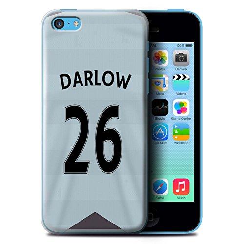 Offiziell Newcastle United FC Hülle / Case für Apple iPhone 5C / Pack 29pcs Muster / NUFC Trikot Away 15/16 Kollektion Darlow