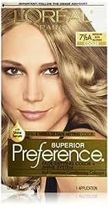 L'Oreal Superior Preference Fade-Defying Color # 7.5A Medium Ash Blonde - Cooler 1 Application (Chemische Haarfärbungen)