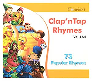 Clap n Tap Rhymes Vol 1 and 2- CD-ROM
