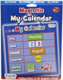 Fiesta Crafts Activity Charts Magnetic My Calendar (Blue)