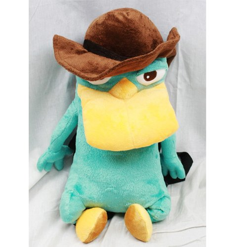 Plush Backpack - Phineas And Ferb - Agent P New Soft Doll Toys dc8678-4