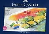 Faber-Castell 128272 - Estuche de cartón con 72 tizas pastel, mini, multicolor