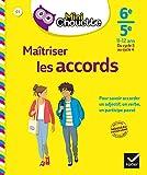 Mini Chouette Maîtriser les accords 6e/ 5e - Cahier de soutien en français (cycle 3 vers cycle 4)