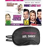 Bridget Jones 3-Filme Collection - Schokolade zum Frühstück + Am Rande des Wahnsinns + Baby | + Schlafbrille