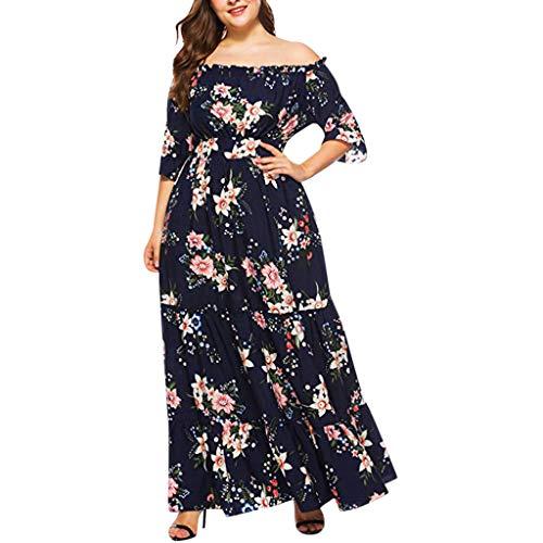 Badekleid Damen Bauchweg Tankini Set Zweiteiliger Badeanzug Push Up Bademode mit Shorts Dame Plus Size Fashion (Womens V-neck Bademode)