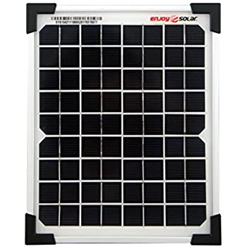 12V Solarmodul 5W mit Kabel 150cm Solarpanel Solarzelle