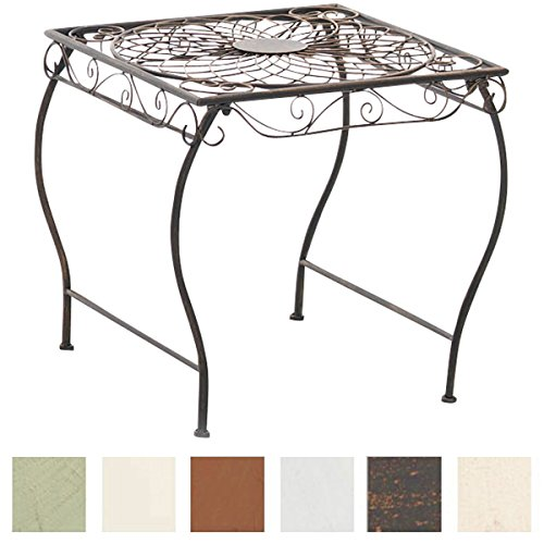 Table Jardin Ronde Fer Forge d\'occasion