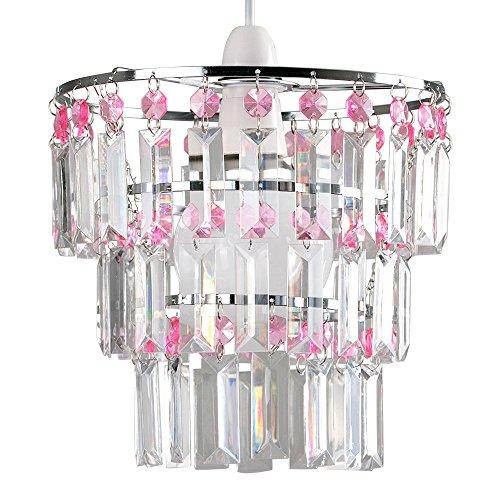 abat-jour-moderne-pour-suspension-3-anneaux-de-cristaux-claires-et-roses-acryliques-en-cascade-des-c