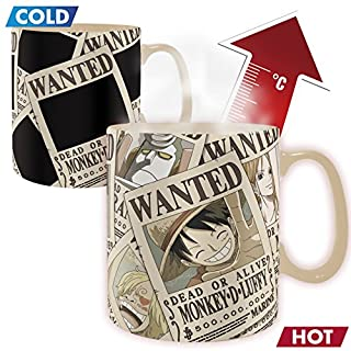 ABYstyle - ONE Piece - Heat Change Mug - 460 ml - Wanted