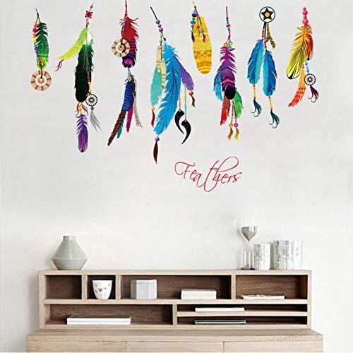 Lbonb Mode Bunte CampanulaWandaufkleber Traum Wandkunst Aufkleber Diy AbnehmbareWohnzimmer Schlafzimmer Dekor Poster 100 * 70 Cm