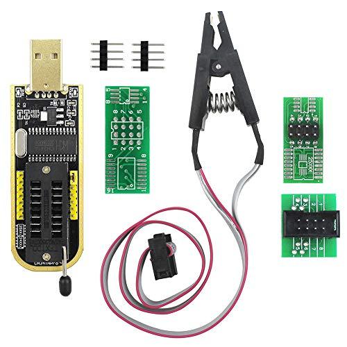 KeeYees SOIC8 SOP8 Test Clip für EEPROM 93CXX / 25CXX / 24CXX + CH341A 24 25 Serie EEPROM Flash BIOS USB Programmer -