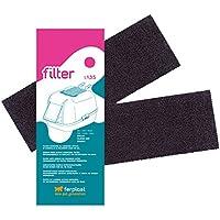 Ferplast -Filtros L 135 para Cajas de Aseo de Mascotas (x2filtros)