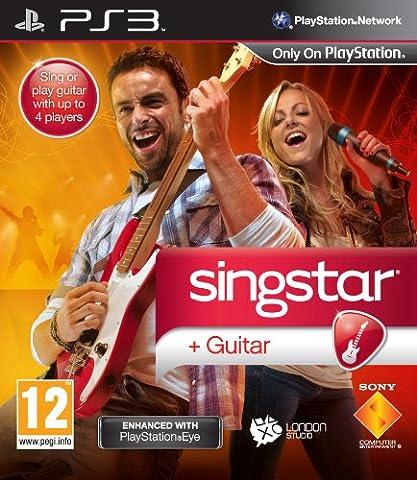 Ps3 Singstar - SingStar Guitar (PS3) [import