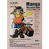 Copic Manga Skizzenpapier - 30 Blaetter - A4 - naturweiss