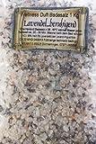 1kg Lavendel Totes Meer Wellness Badesalz-Blütenbadesalz-Blüten-Bade-Salz