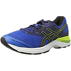 Asics Gel-Pulse 9, Zapatillas de Running Para Hombre, Azul (Directoire Blue/Black/Indigo Blue), 45 EU