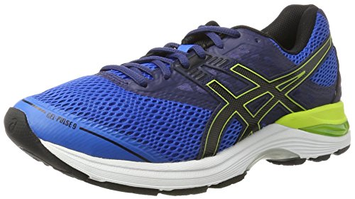 Asics Men's Gel-Pulse 9 Gymnastics Shoes, Blue (Directoire Blue / Black / Indigo Blue), 6.5 UK