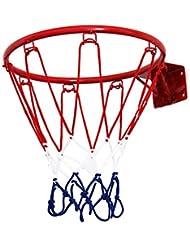 Pellor Aro de Baloncesto Colgar en la Pared para los Niños Adecuado al Interior y Exterior