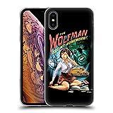 Head Case Designs Officiel Steven Rhodes Homme De Loup Humour Coque en Gel Doux Compatible avec iPhone XS Max
