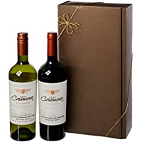Le Bon Vin Hugo Casanova Chilean Merlot-Sauvignon Gift Set NV 75 cl (Case of 2)