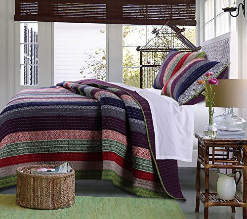 Greenland Home Marley Bettwäsche-Set aus Baumwolle King/Cal King Carnival (King Croscill Bedding)