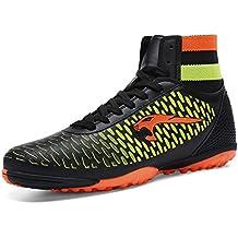 BOLOG talla 33-45 Zapatos de fútbol TF Césped Fútbol Clamps Man Training Game Zapatillas de deporte de alto (zapatos de fútbol con calcetines)
