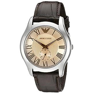 Emporio Armani Reloj Hombre de Analogico con Correa en Cuero AR1704