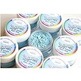 Rainbow Dust Essbare Puderfarben Lebensmittelfarbe, Fondant, Puder Baby Blue