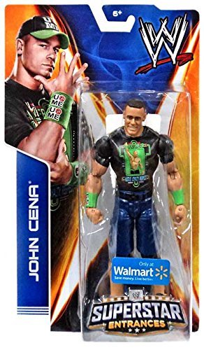 Mattel WWE Wrestling 2014 Exclusive Superstar Entrances Action Figure John Cena [Never Give Up T-Shirt] - John T-shirts Cena