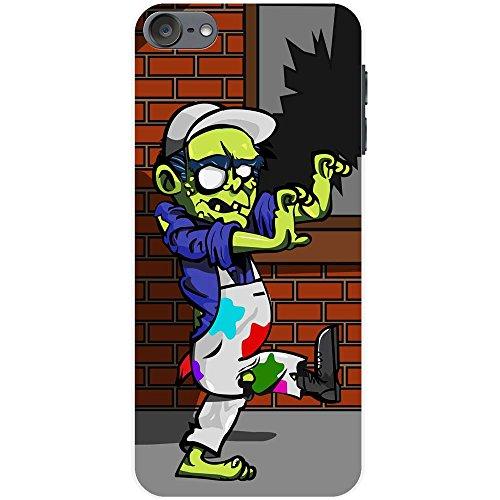 Maler Zombie Hartschalenhülle Telefonhülle zum Aufstecken für Apple iPod Touch 6th Generation - 300 Ipod