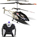 Akshat Swift Helicopter Smallest & Lightest with Auto - Stable Tecnology Remote Control - Black