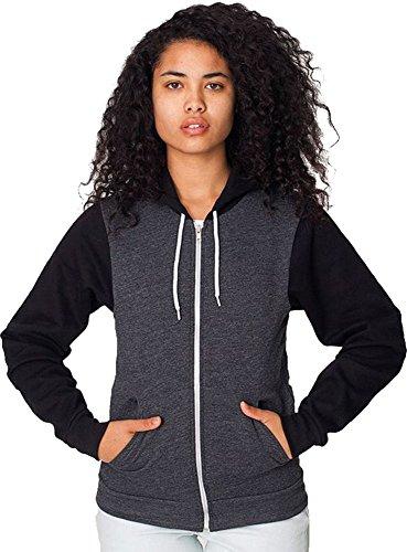 american-apparel-chaqueta-para-hombre-dark-heather-grey-black-m