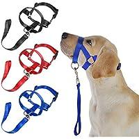 Quanjucheer Kopfhalfter für Hunde, weiches Nylon, Trainingsgeschirr für mehr Sicherheit, Maulkorb schützt vor Bissen und Kauen